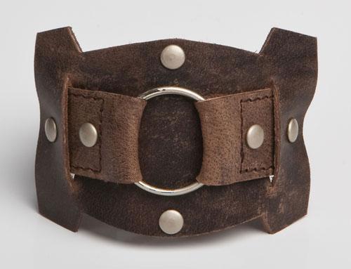 URBANE | Brown Leather Wristband