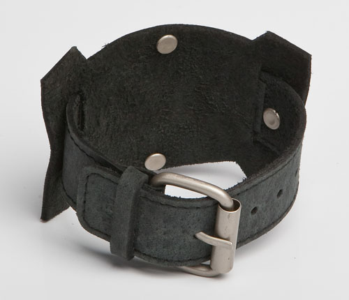 URBANE | Brown Leather Wristband