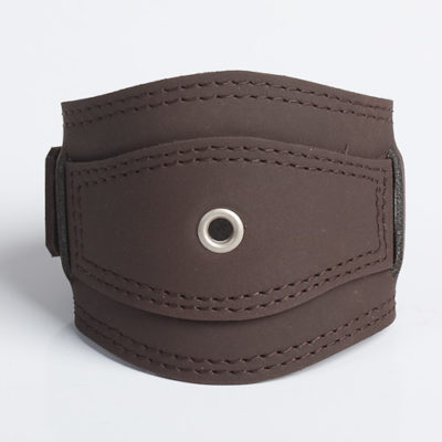 RINGLET | Brown Leather Wristband