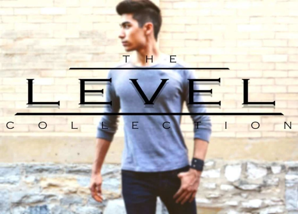 level collection logo overlaid on a picture of a model found on @thelevelcollection